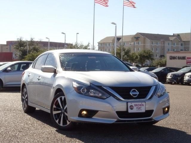 pre-owned 2017 nissan altima 2.5 sr sedan in laredo #3544a | brown fiat