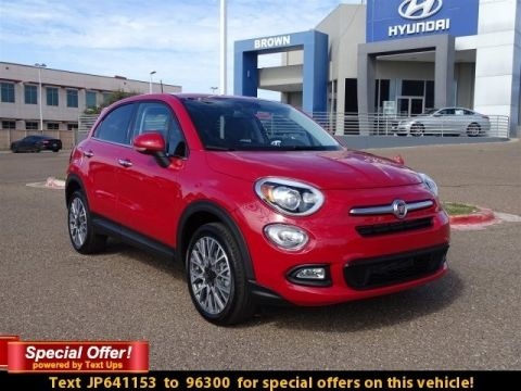 NEW 2018 FIAT 500X LOUNGE FWD